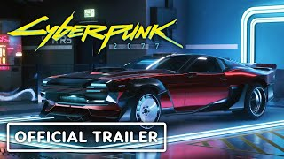 Cyberpunk 2077 - Official Vehicles Trailer