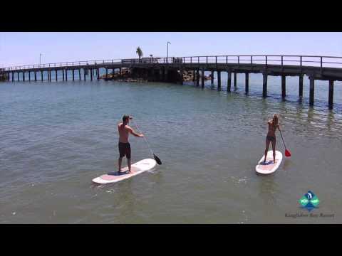 Stand-up Paddle Boarding - Kingfisher Bay Resort Fraser Island