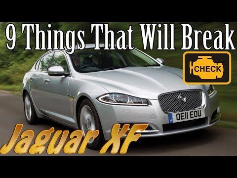 Jaguar XF - 9 Things That Will Break