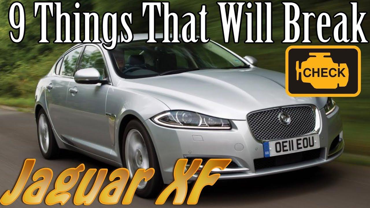 Jaguar XF - 9 Things That Will Break vlog