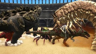 ARK's strongest creature - Boss Creatures, Alpha Creatures, Titano and Giga FREE FOR ALL