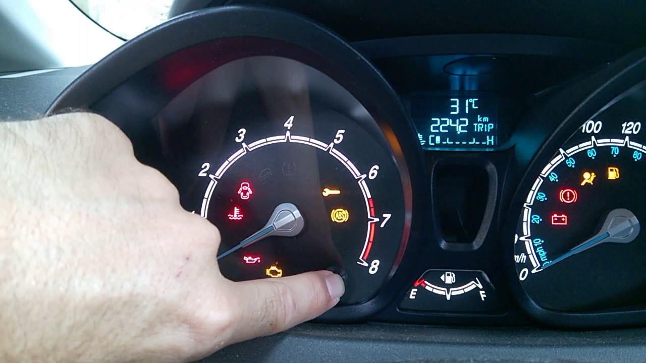 Ford Fiesta Sedan >> Teste do painel do Fiesta para qualquer modelo - YouTube