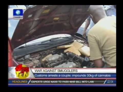 Customs seize Indian hemp worth N3.2 million, stashed in a car's engine