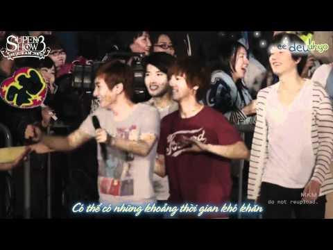 [SJF Vietsub + kara] Super Junior - Super Show 3 in Japan - You and I (OFFICIAL)