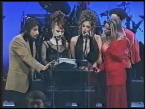 AVN Awards Show 1995   Celeste, Shane, Sarah Jane Hamilton, Colt Steel   Seymore Butts