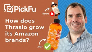 How does Thrasio grow its Amazon brands?