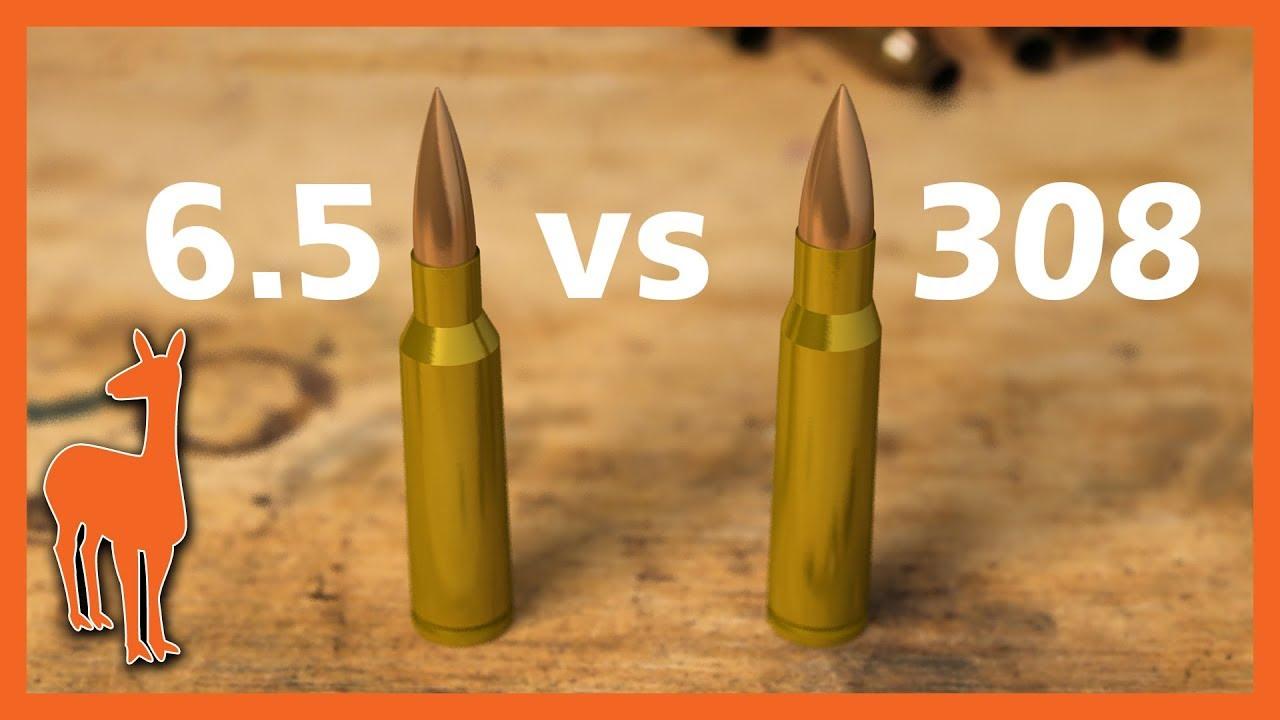 308 vs 6 5 Creedmoor: Is 6 5 Creedmoor always the best long range round? Pt  4 of Mile Rifle