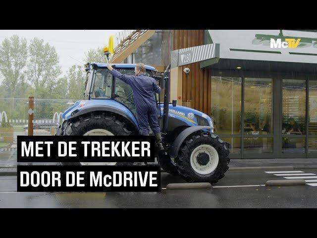 Met de trekker door de McDrive | Achter de schermen | McDonald's