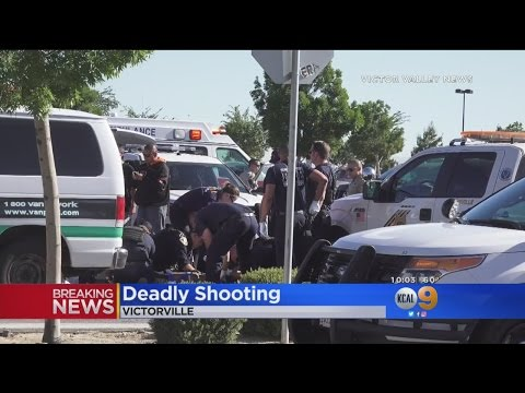 Man  Fatally Shot Outside Home Depot In Victorville