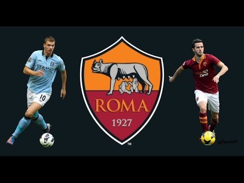 Edin Dzeko And Miralem Pjanic | Skills, Goals And Assists | Welcome to AS ROMA |