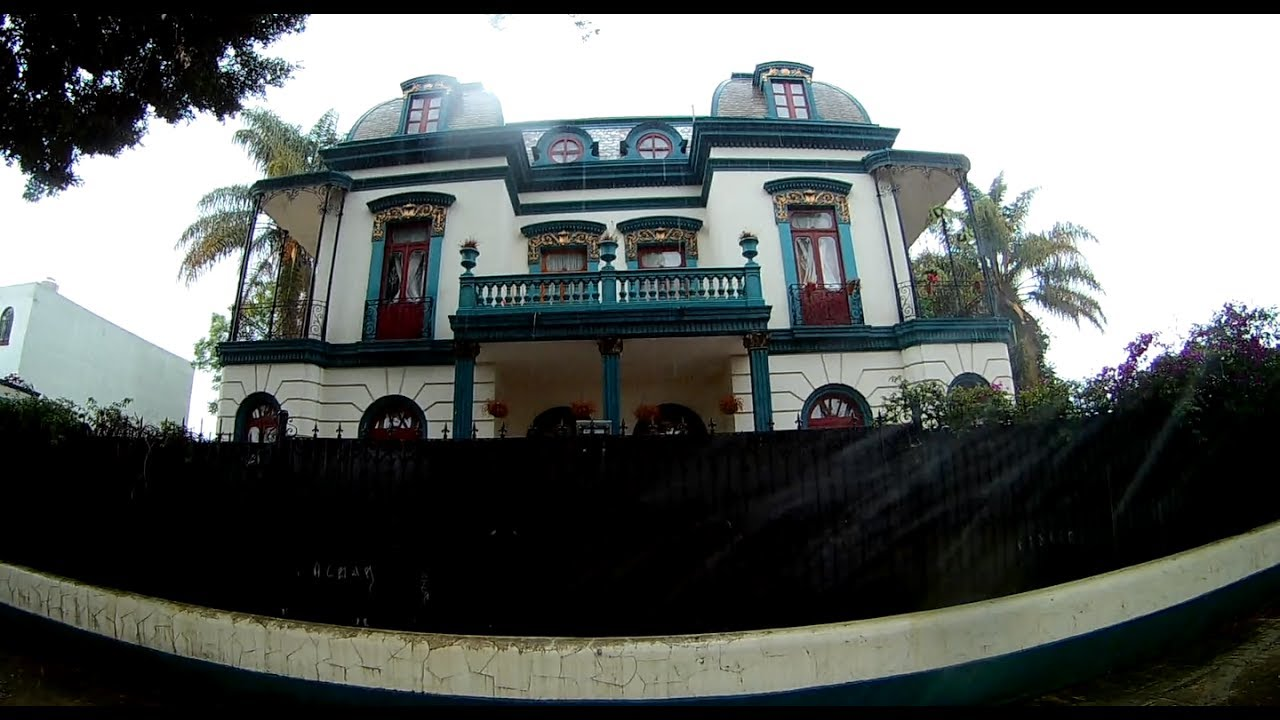 Fachada de la Casa de los Enanos, en la ciudad de Puebla