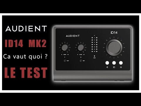 Audient Id14mk2 : le test