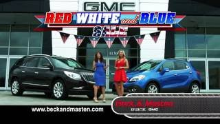 Red White Blue Sale June 2016 Encore and Enclave - Beck Masten