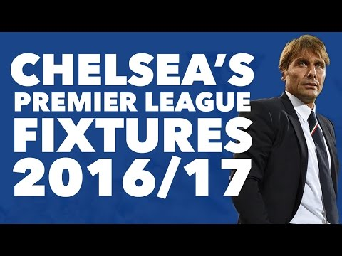 Chelsea's 2016/17 Fixtures Revealed | Rory's Review