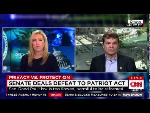 CNN Newsroom With Poppy Harlow: USA FREEDOM Act
