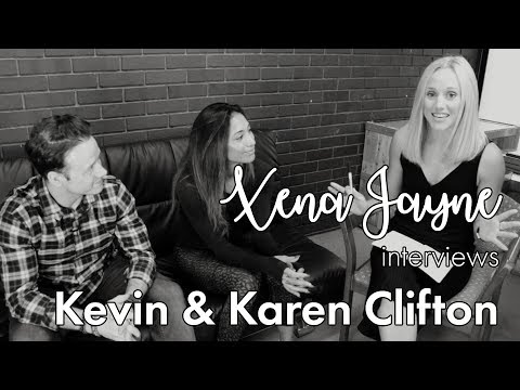 Xena Jayne Interview's with Kevin and Karen Clifton from BBC's Strictly Come Dancing