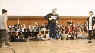 AOD 8 2014 - 1/4 FINALE HIP HOP - BADNESS vs DUBBLE STRUGGLE - WINNERS BADNESS
