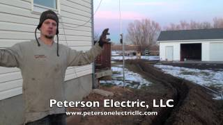 Trenching & Wiring A Detached Garage