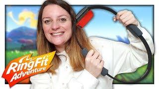 ON TESTE LE NOUVEAU JEU NINTENDO SWITCH : RING FIT ADVENTURE !