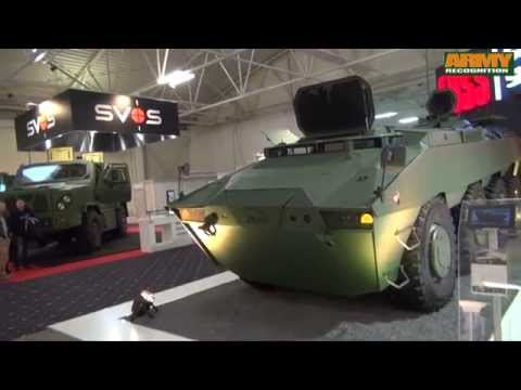 PARS 8x8 armoured vehicle personnel carrier FNSS Turkish Defense Company IDEB 2014 Slovakia