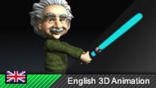 Wie Laser funktionieren! Animation (mit Einstein)
