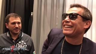 "Julio Cesar Chavez Sr. ""GOLOVKIN IS VERY STIFF! I WAS SOMETHING ELS..."