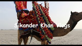 Crazy Camel Ride | Karachi Sea View | Sikander Khan Vlogs | An Interesting Day Out | Part 3