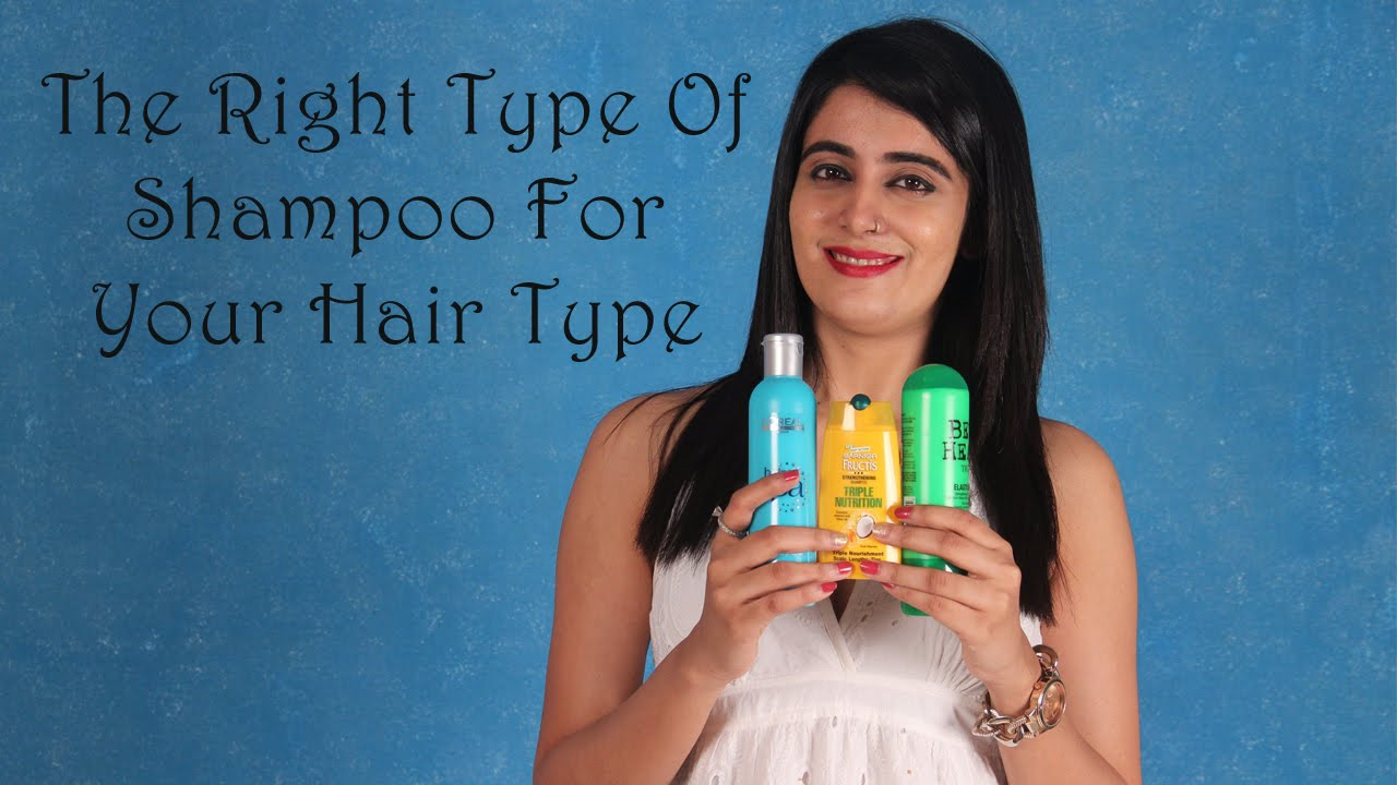 FOMO : The Right Type Of Shampoo For Your Hair Type!