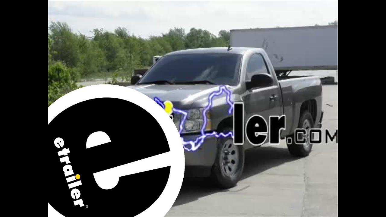 pollak twist-in trailer connector installation - 2008 chevrolet silverado  pickup - etrailer com