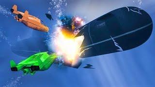 DESTROYING MY BRAND NEW SUBMARINE! (GTA 5 Doomsday Heists DLC)