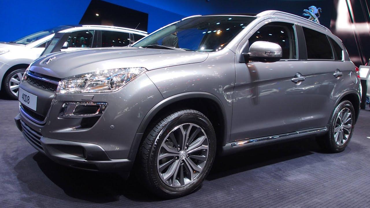 2015 Peugeot 4008 Allure 1.6 e-HDi 115 - Exterior and ...  Peugeot 4008 2015