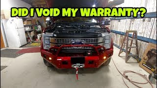 Do upgrades void your truck warranty? Find out!
