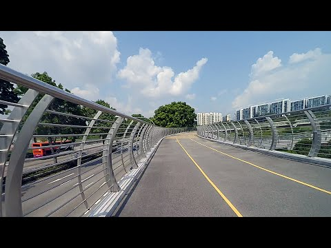 Cycling from Fusionpolis to Boon Lay Place