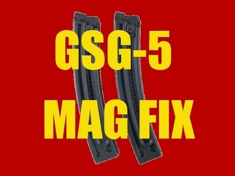 GSG-5 RIFLE JAMMING? Mag Fix Solution w/ Range demo