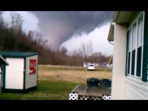 Gigantesco tornado en USA