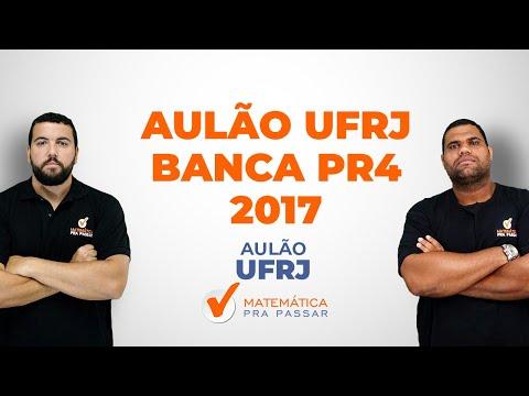 AULÃO  - UFRJ PR4 -  2017