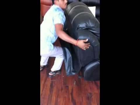 How To Remove The Back From A La Z Boy Sofa Doovi