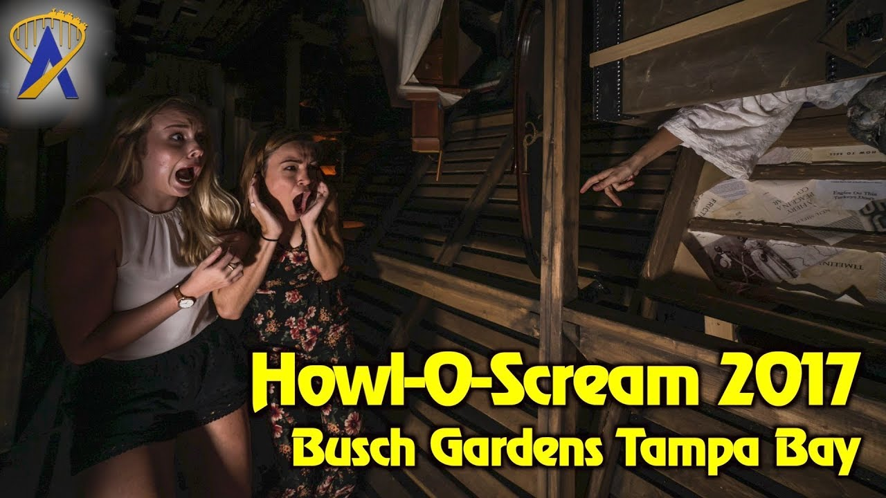 Howl O Scream 2017 Highlights At Busch Gardens Tampa Bay Doovi