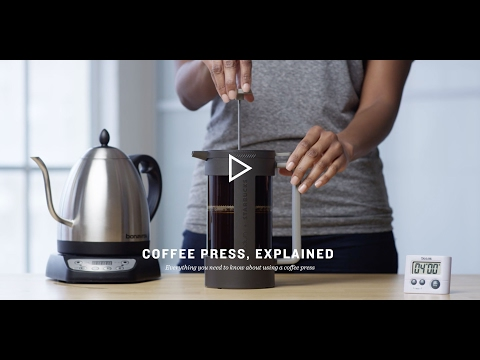 How to make french press coffee bodum
