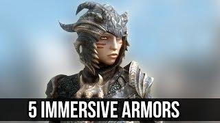 Skyrim: Top 5 Immersive Armor Mods for The Elder Scrolls 5 Special Edition!