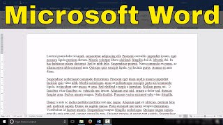 How To Add A Header And Page Number In Microsoft Word-Tutorial