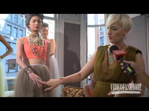 WATCH: Lulu Frost Spring/Summer 2014 jewelry video - Videofashion
