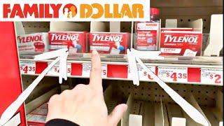FAMILY DOLLAR SHOPPING QUARANTINE STOCKPILE ESSENTIALS I FOUND TYLENOL EGGS