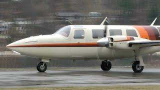 Piper PA-60-601P Aerostar Landing
