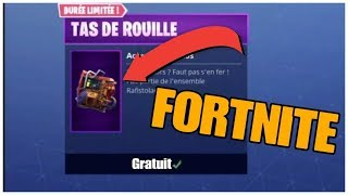 "THE SAC ""STS OF ROUILLE"" FREE / FORTNITE!!"