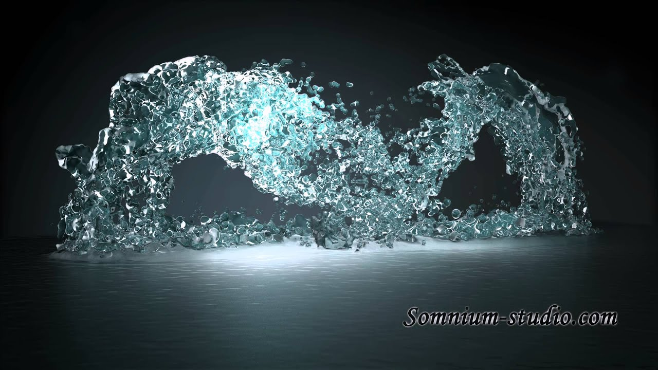 Pitbull Wallpapers 3d Water Product 3d Animation Youtube