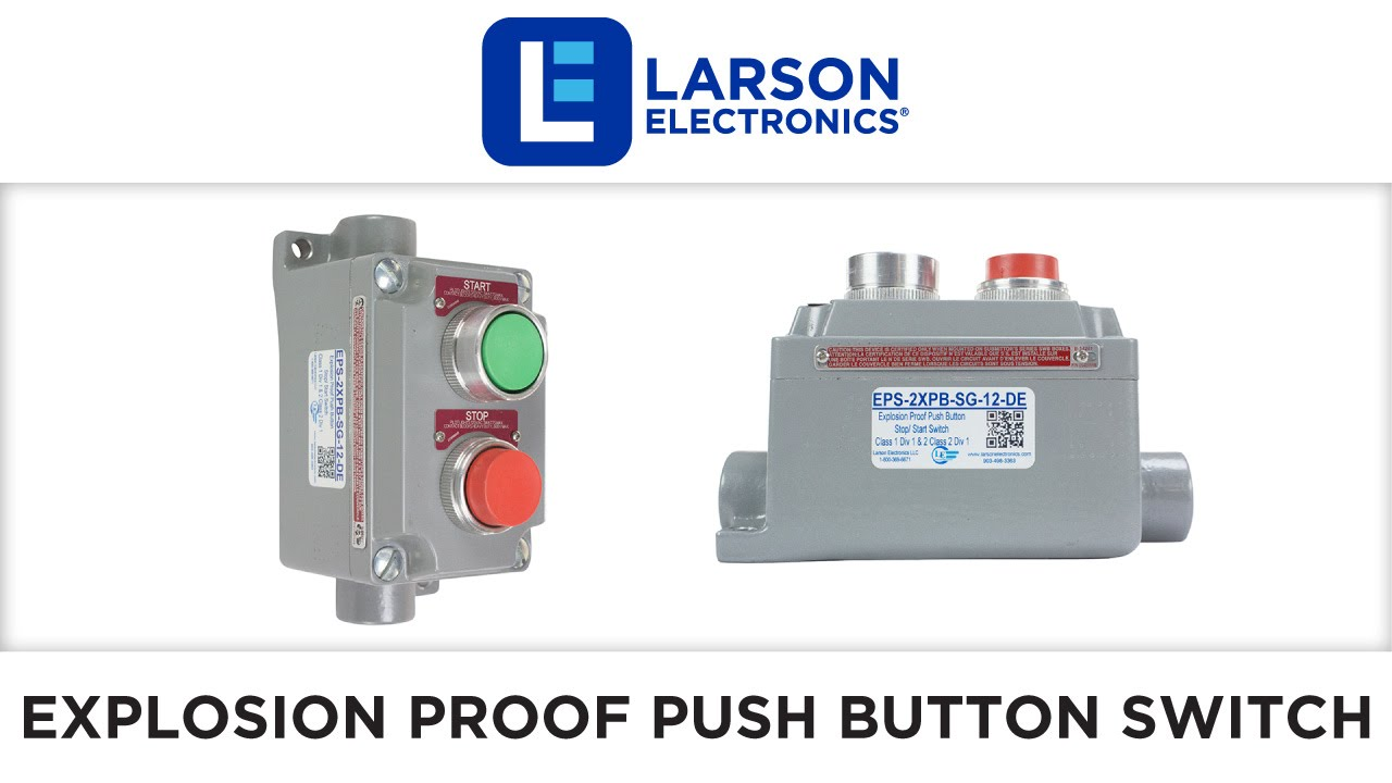 Explosion Proof Push Button Stop Start Switch Class 1 Div 2 Wiring