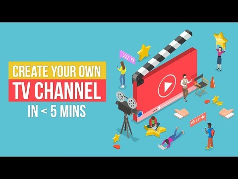 Learn how to create online tv channel by using the VideoApps Studio