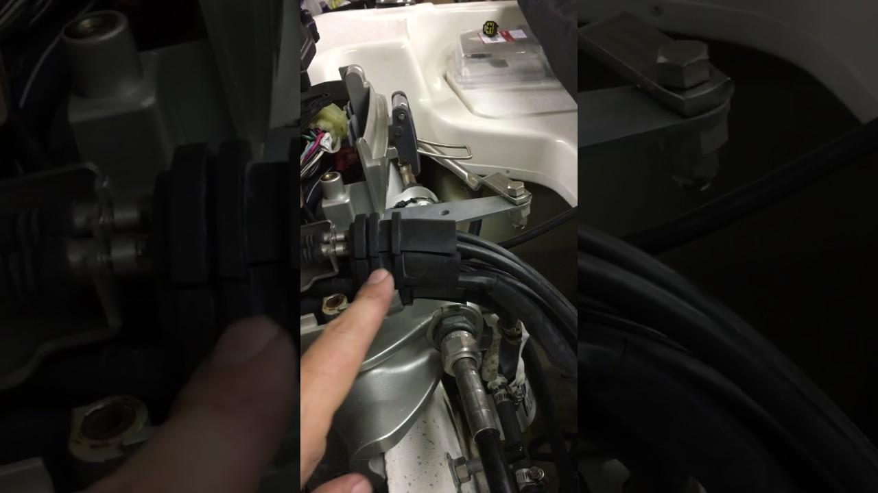 Honda 60 Four Stroke Nema 2000 Cable Installation Youtube Bf60 Wiring Diagram