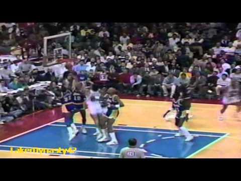 Magic Johnson 1988: 32pts, 11rebs & 20asts vs. Charles Barkley 31pts & 23rebs